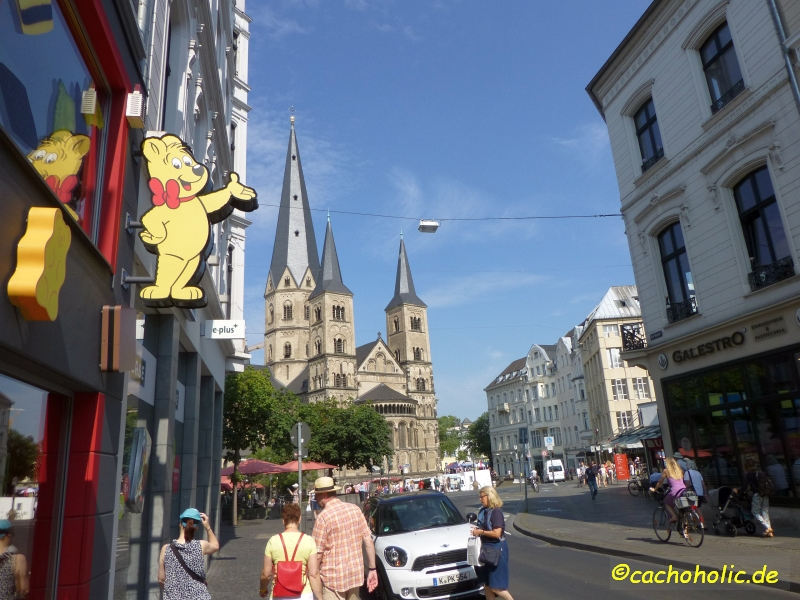 Sightseeing in Bonn - Geocaching mal entschleunigt