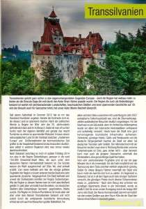 Reisebericht Transsivlanien