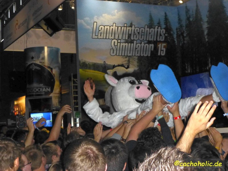 ...und auch die Gamer lassen die Kuh fliegen