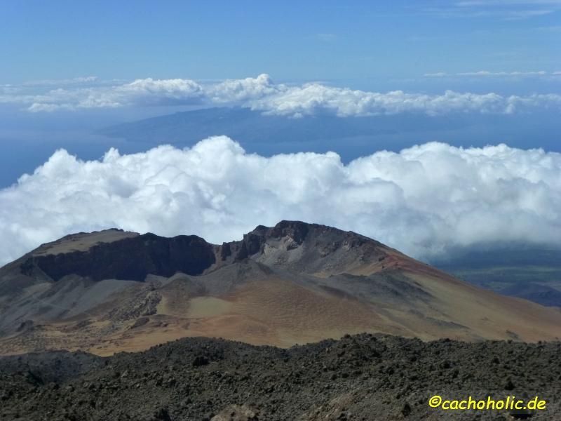 Earthcache auf dem Teide (Teneriffa)