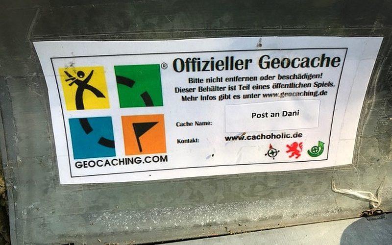 Geocaching-Briefkasten bei Braunschweig