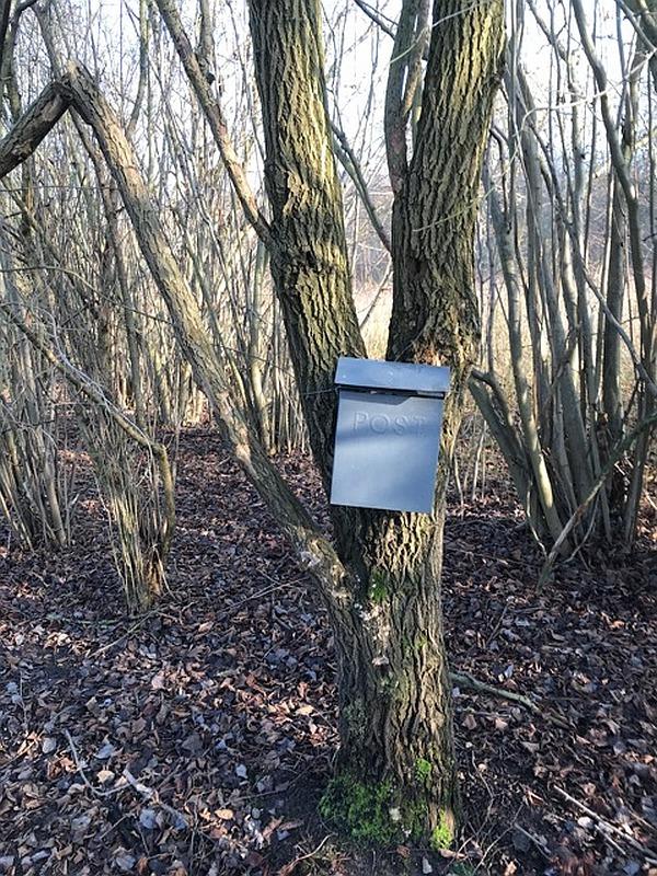 Mysteriöser Geocaching-Briefkasten