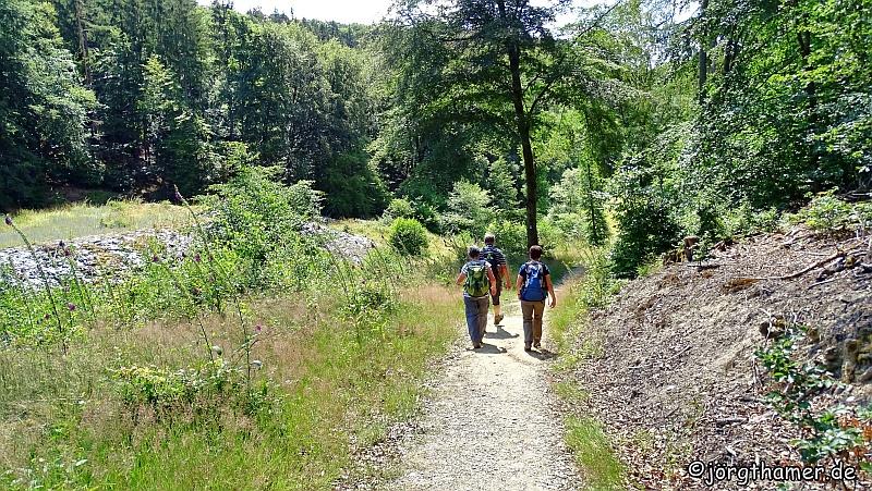 Unterwegs auf dem Wisper-Trail Naurother Grubengold